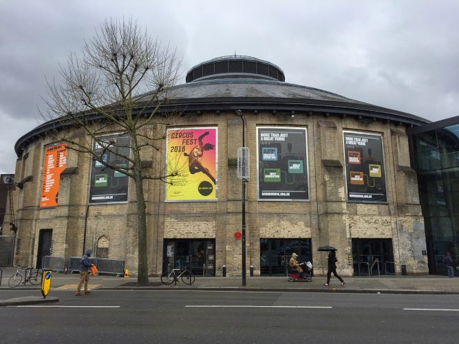 The Roundhouse performing arts and concert venue, London