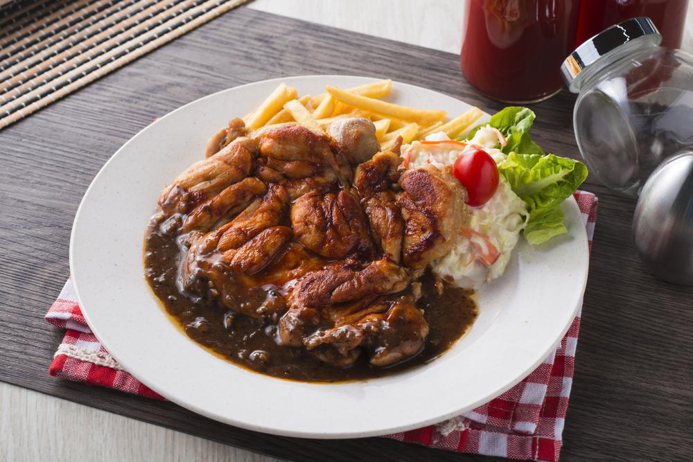 Hainam Style Chicken Chop