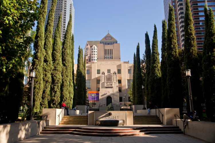 The Los Angeles Central Library, Downtown Los Angeles.