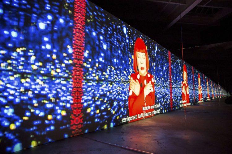 David Zwirner exhibits work from artists such as Yayoi Kusama