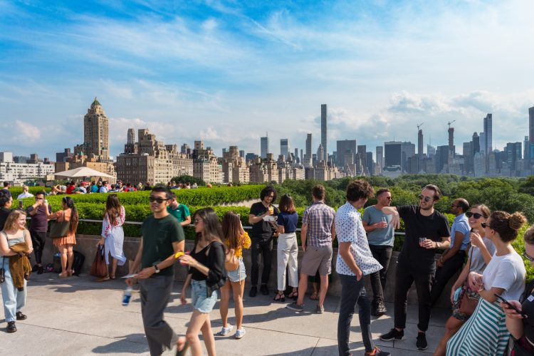 The Met Roof Garden Bar, New York