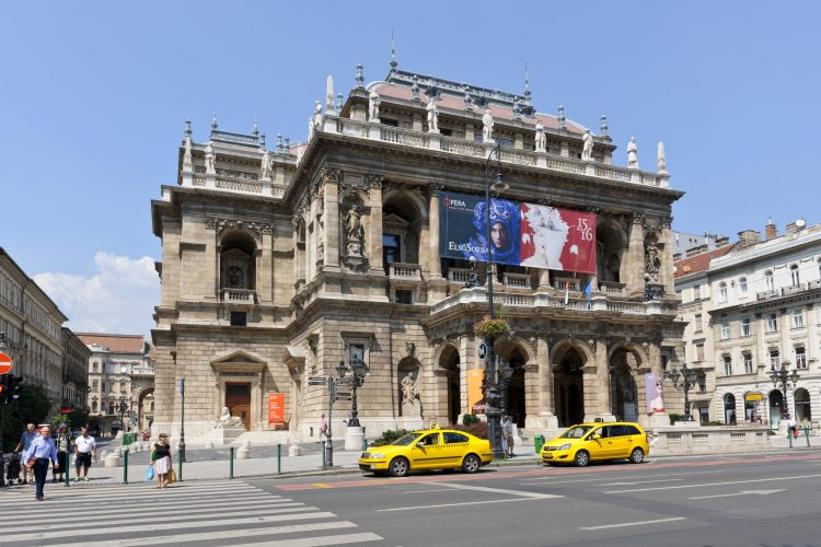 The Hungarian State Opera House