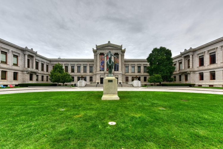 The Museum of Fine Arts holds approximately 450,000 pieces of art