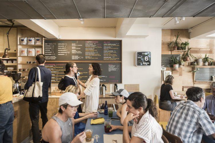 O Cafe, New York.