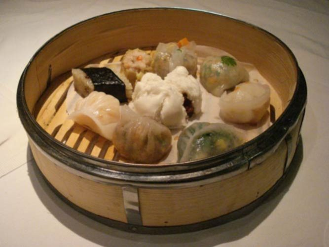 Dim Sum Basket at Pearl Liang