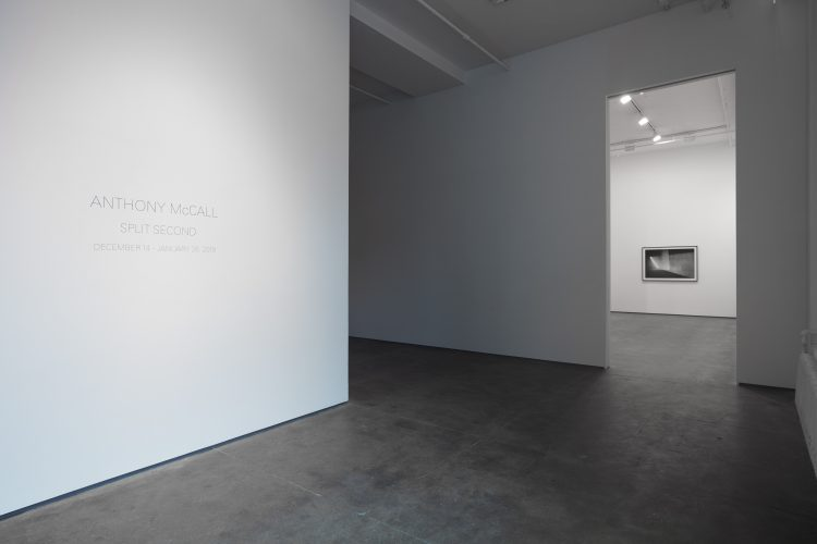 'Anthony McCall: Split Second' was held at Sean Kelly