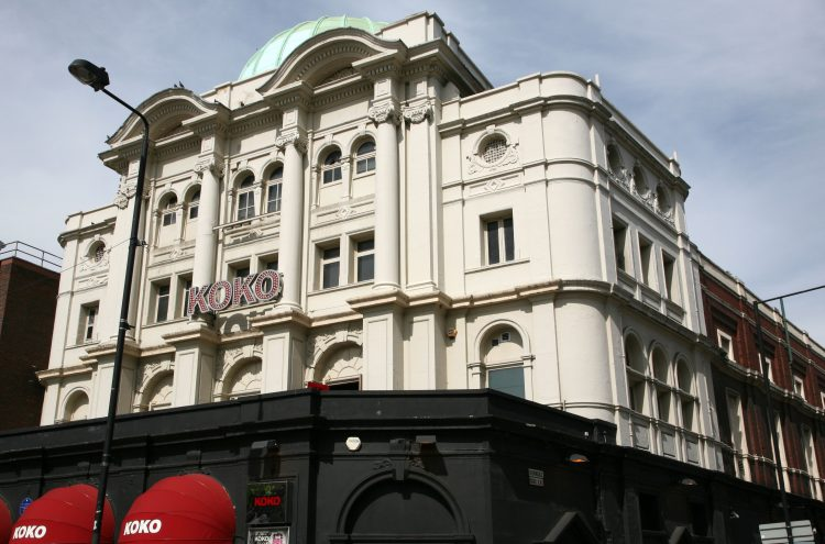 Koko music venue in Camden Town, London. Image shot 2009. Exact date unknown.