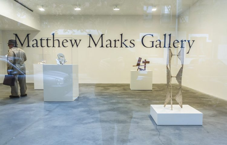 Matthew Marks Gallery represents both up-and-coming and established artists