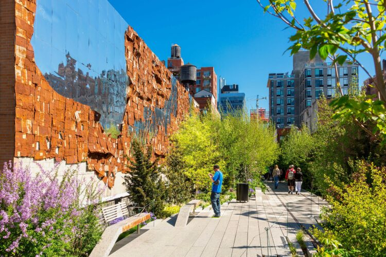 High Line Public Park, New York City. Image shot 2018. Exact date unknown.