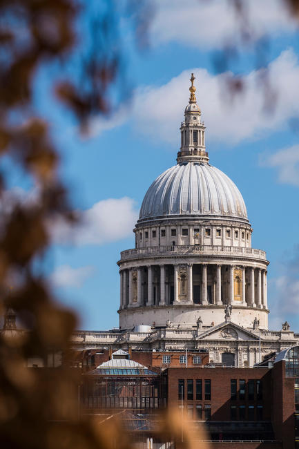 St.Paul's cathedral, London, England, U.K.