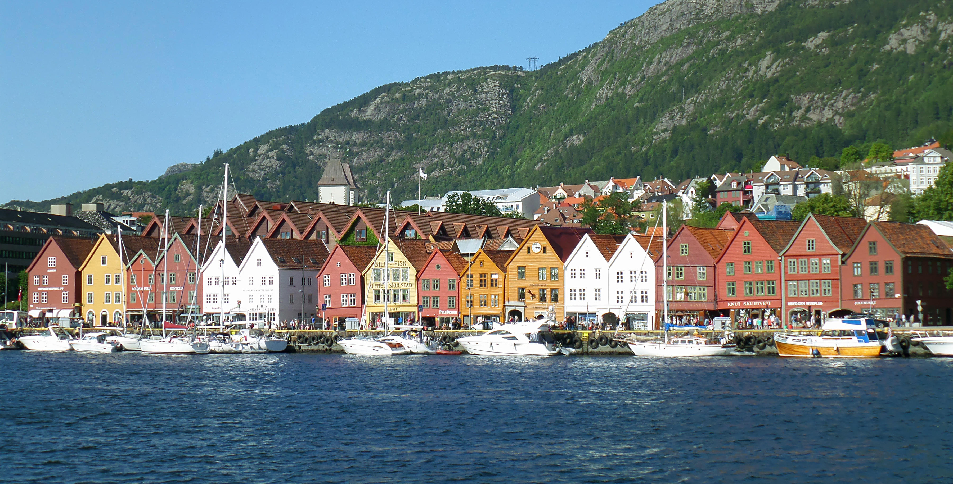 free things to do in bergen norway