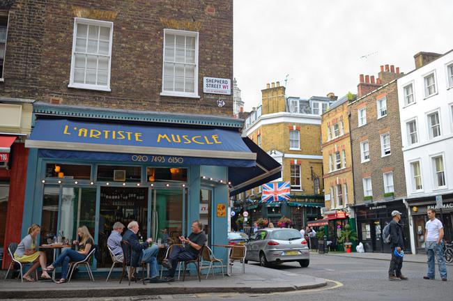 Shepherd Street Market, Mayfair, Westminster, London, England, UK, Europe