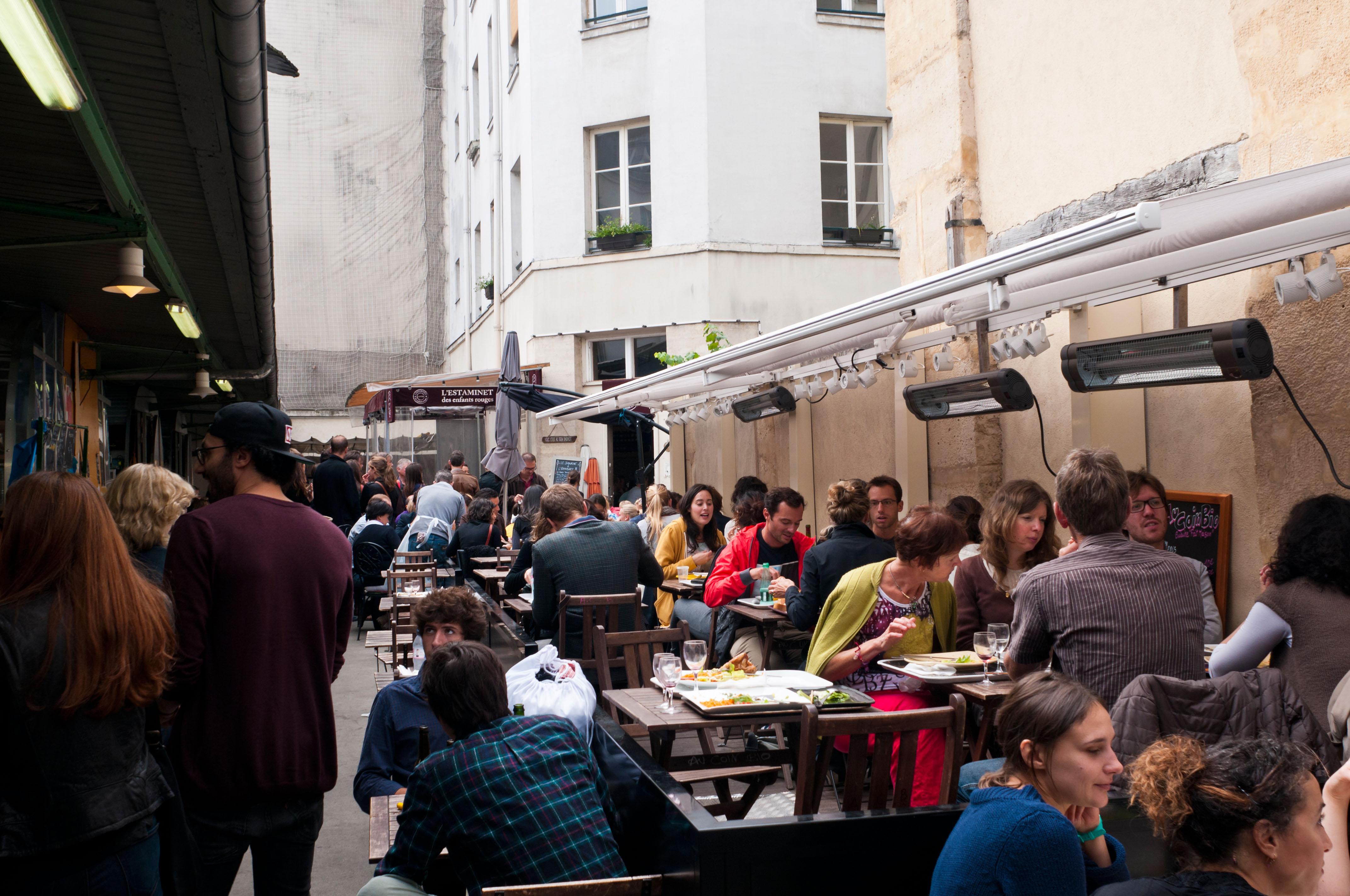 Parisian Market The Marche des Enfants Rouges