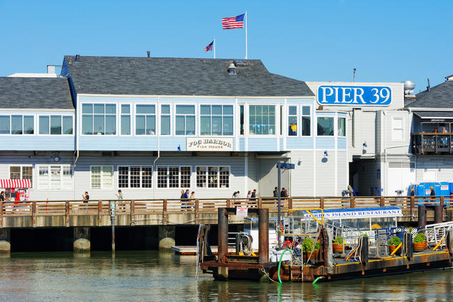 Pier 39, Fishermans Wharf, San Francisco, California, USA