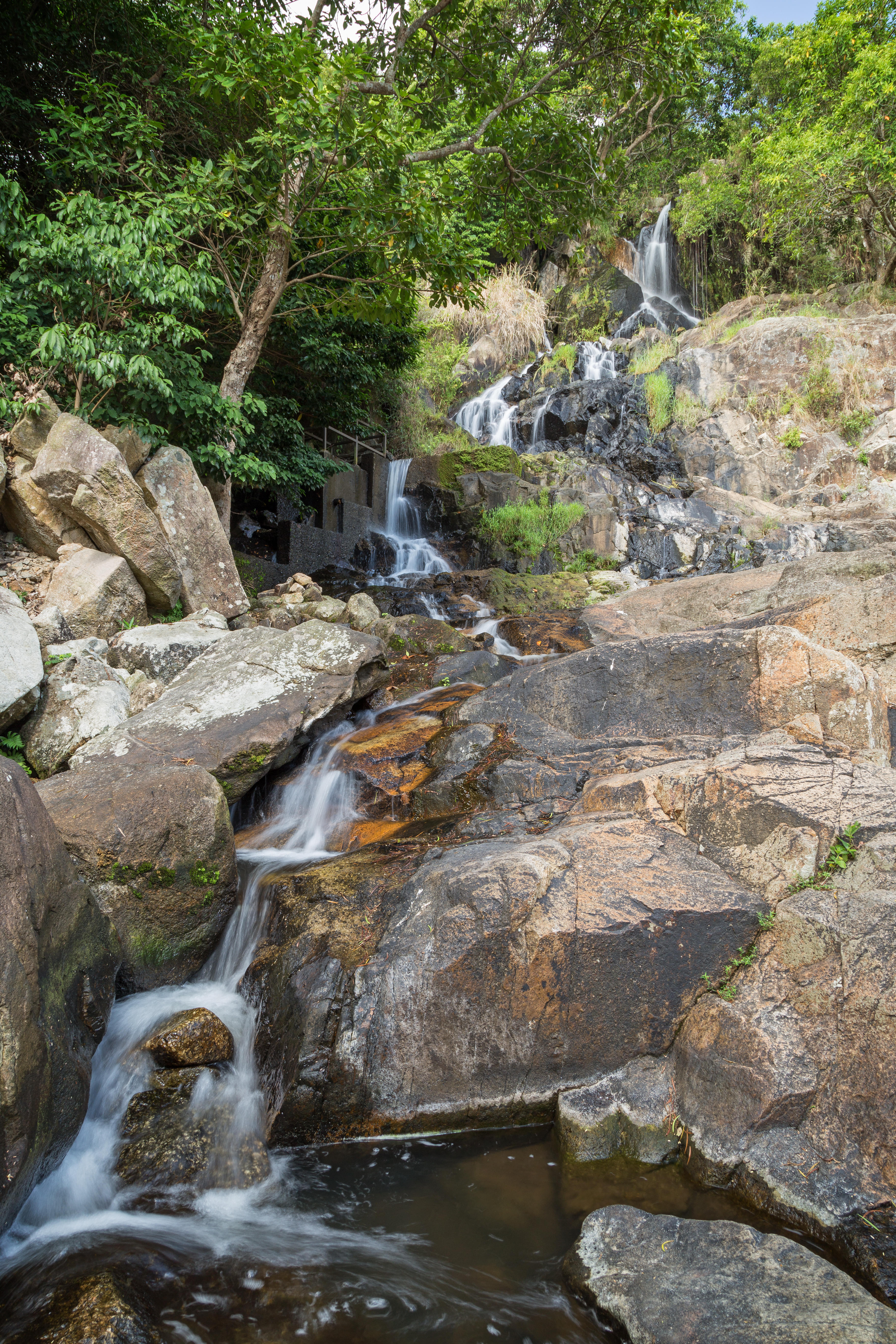 Take a day trip to Silvermine Waterfall