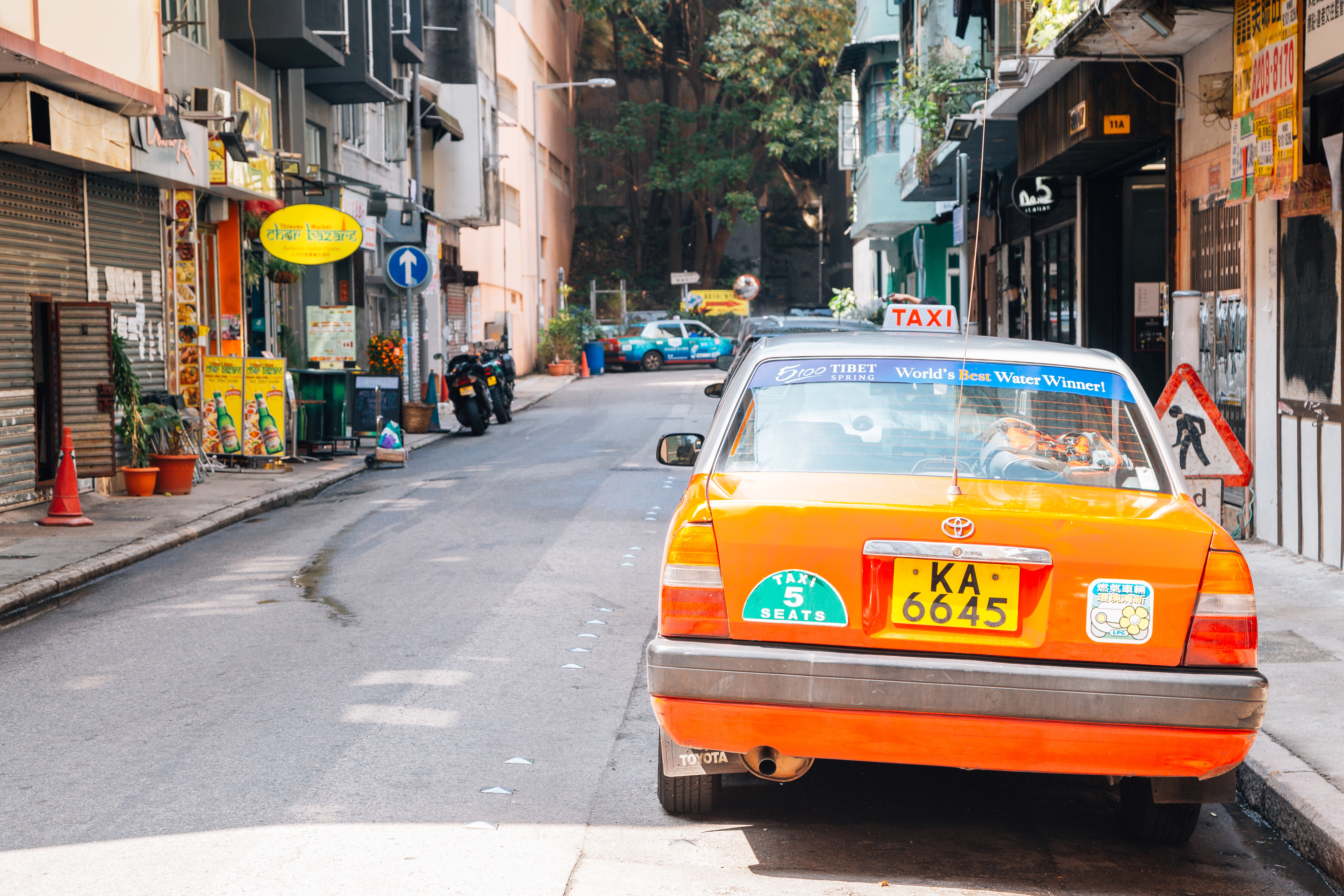 Tai Hang's streets are lined with vintage stores, restaurants, bars and coffee shops