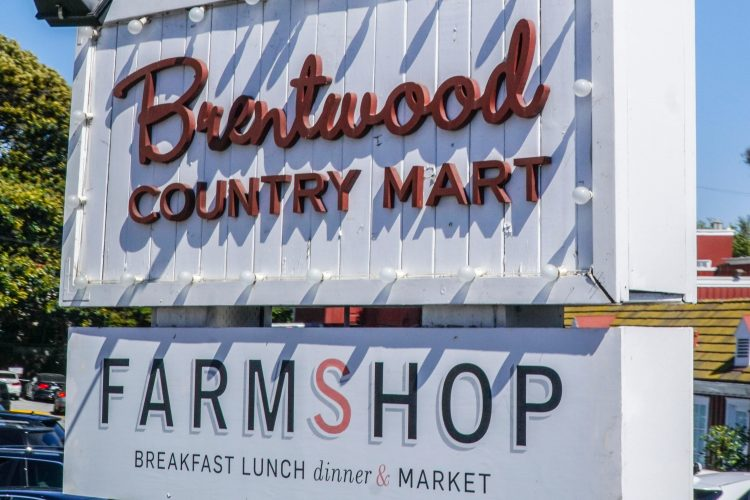 Famous Brentwood Country Market in Los Angeles - LOS ANGELES - CALIFORNIA