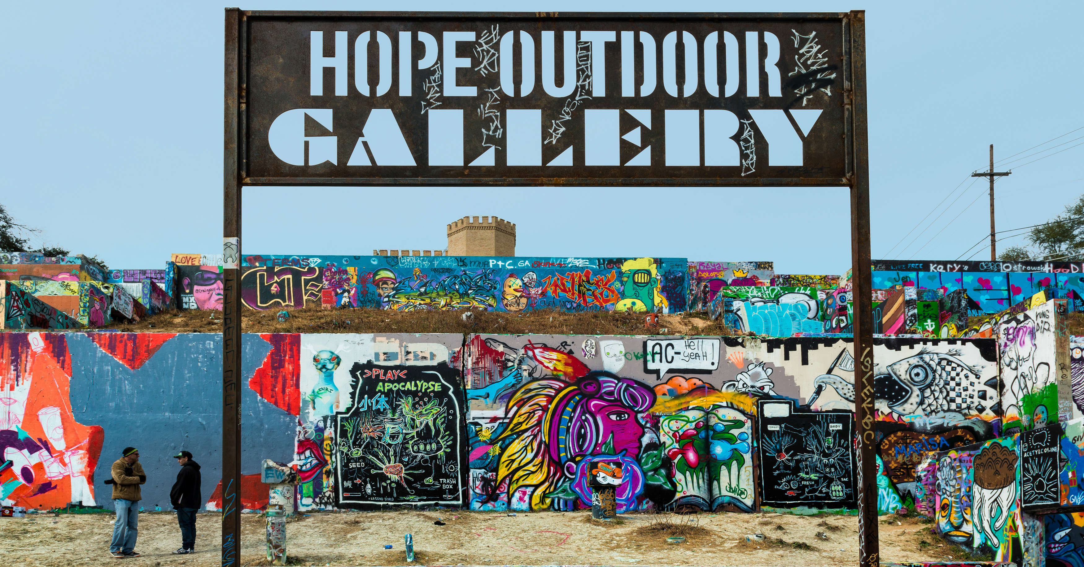 A Look Into Austin S Ever Changing Outdoor Gallery