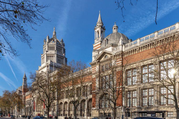 Victoria and Albert museum in Kensington, London.