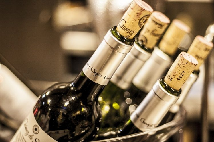 A selection of fine wines are also available at Lafite