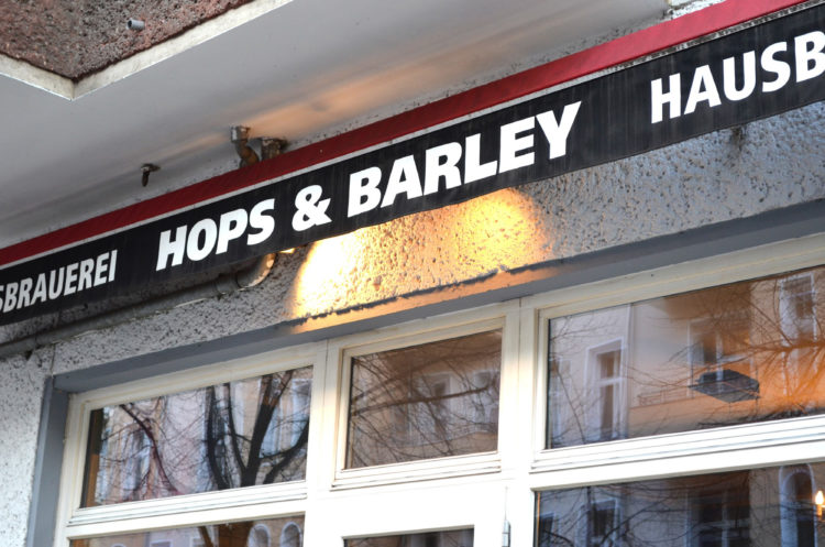 Hops and Barley, Berlin, Germany.