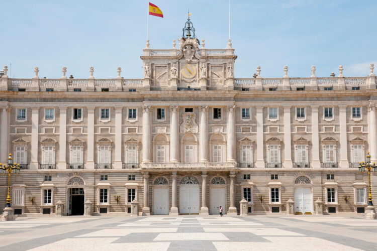 Royal Palace of Madrid - Spain