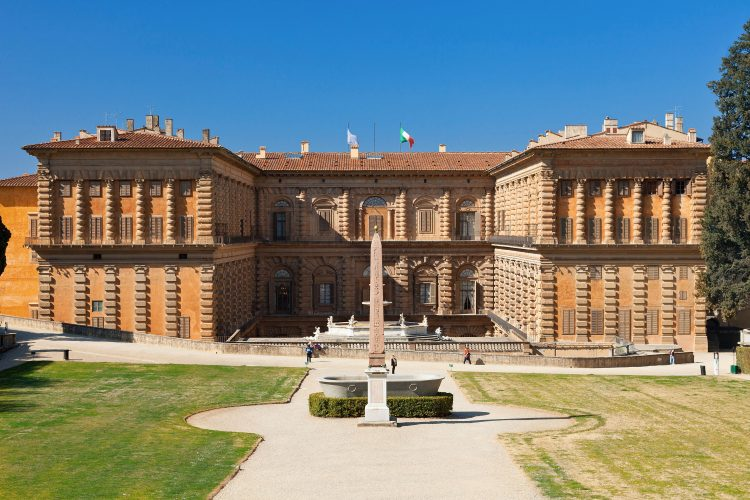 The Palazzo Pitti houses a number of treasure-filled museums, along with the famed Boboli Gardens