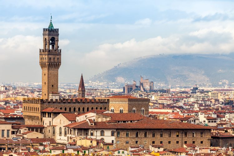 The Palazzo Vecchio remains Florence's city hall to this day