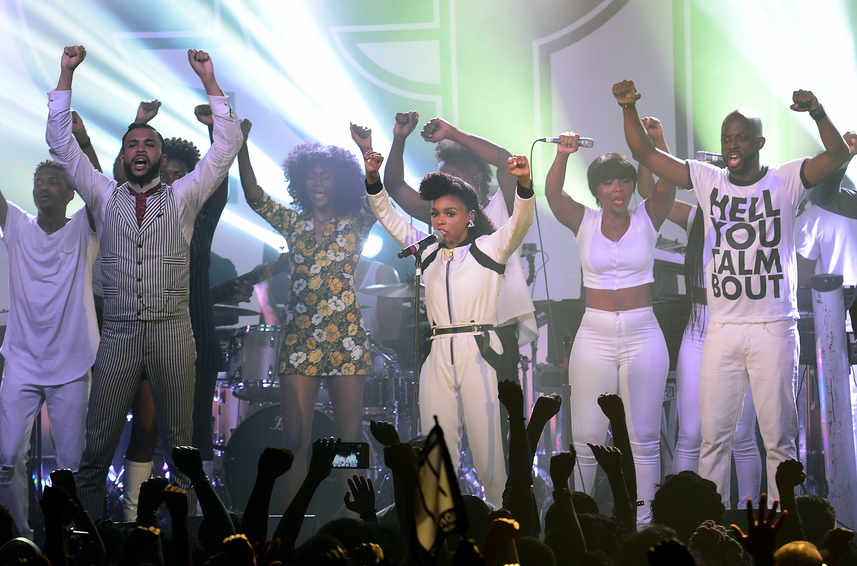 Janelle Monae in concert at the Concord Music Hall, Chicago, America - 18 Aug 2015