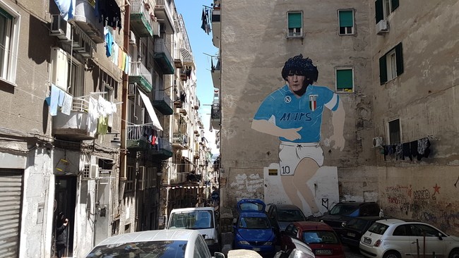 How Maradona Changed Naples Forever