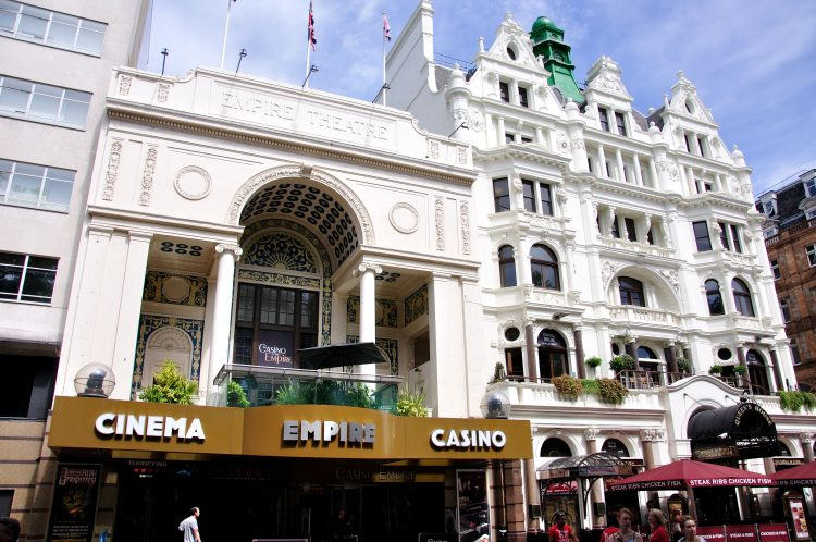 Empire Cinema and Casino, Leicester Square, London
