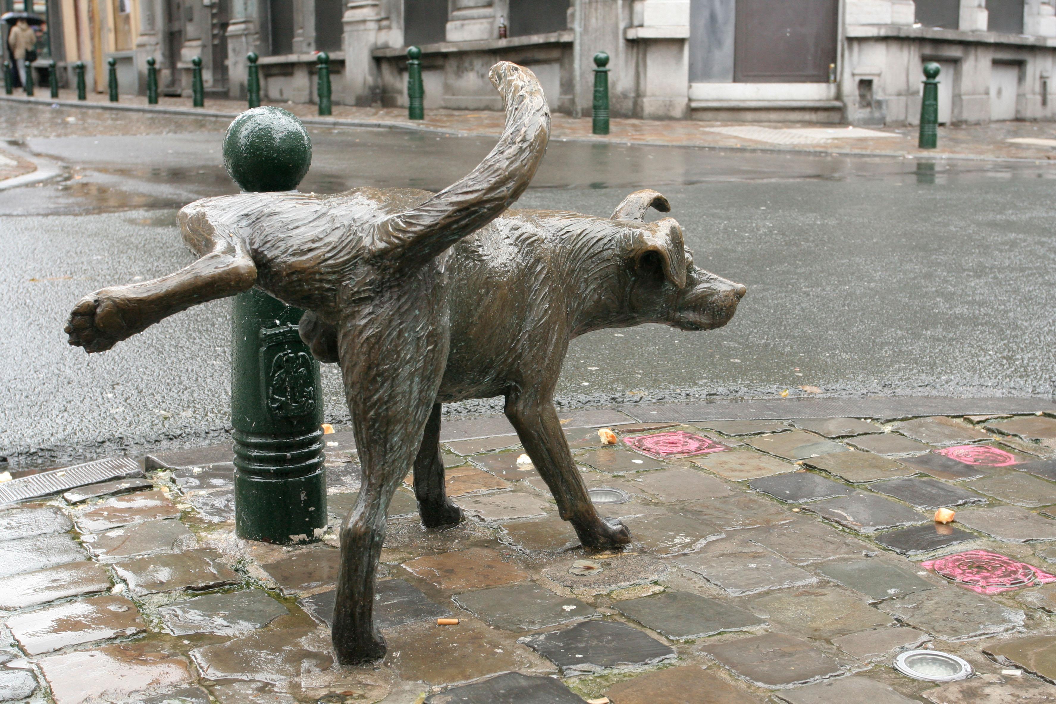 Zinneke Pis statue in Brussels
