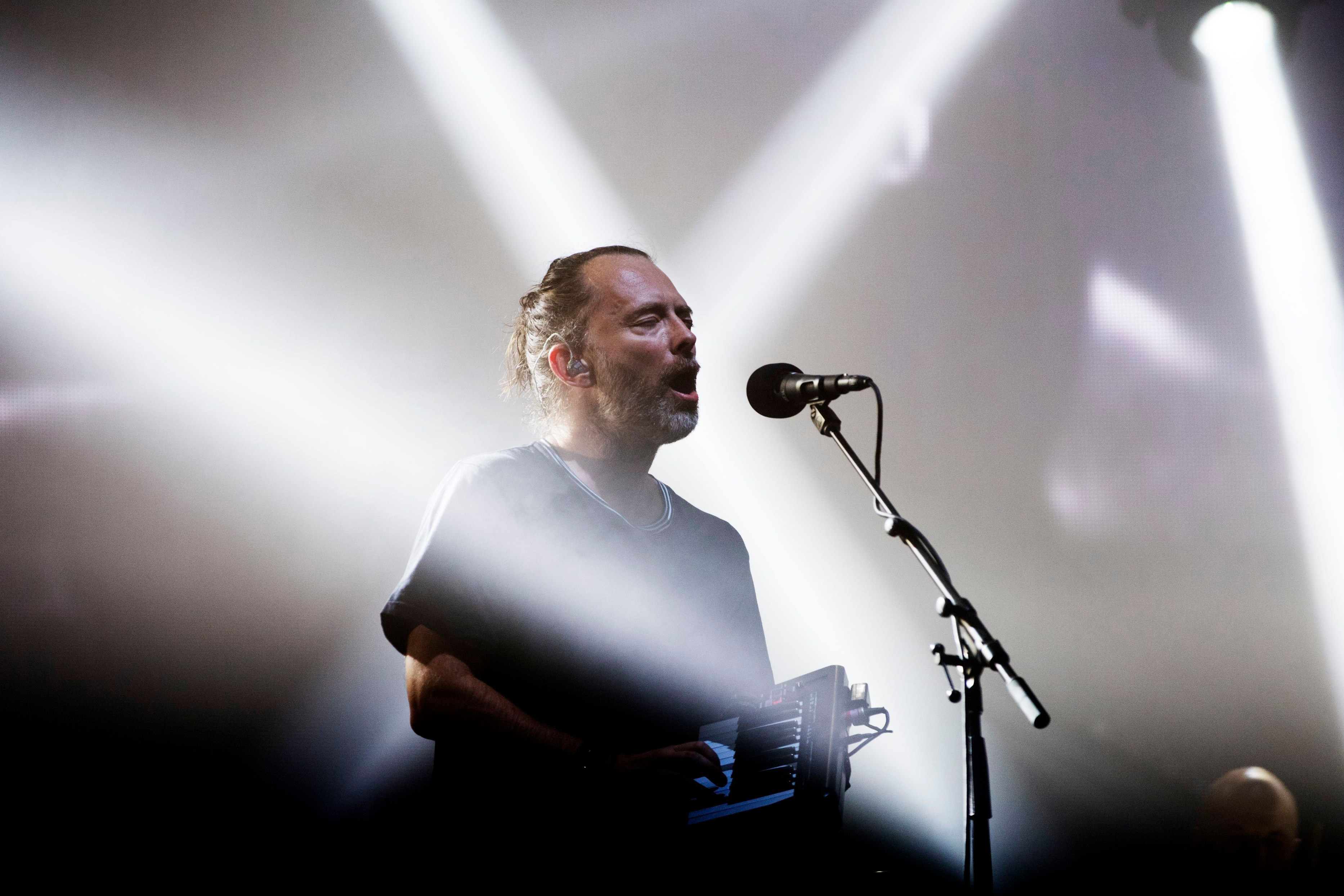 Radiohead headlined the festival in 2017