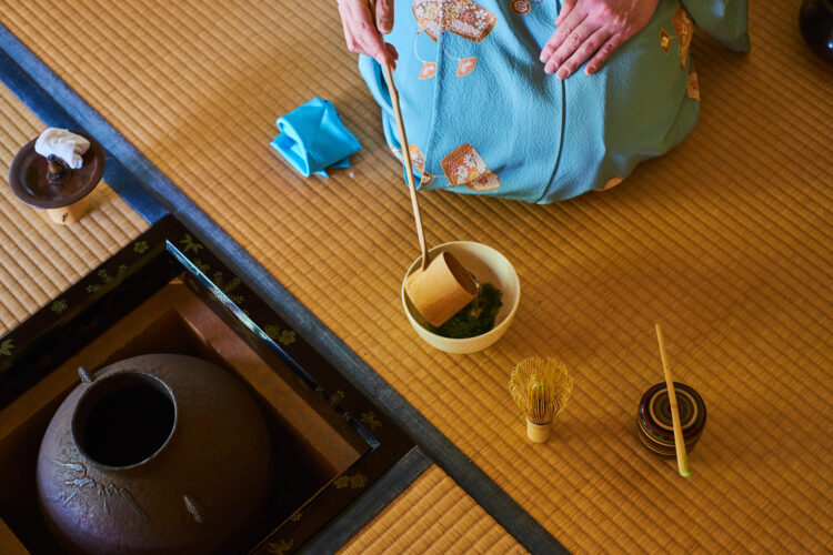 Tea ceremony, Kyoto.