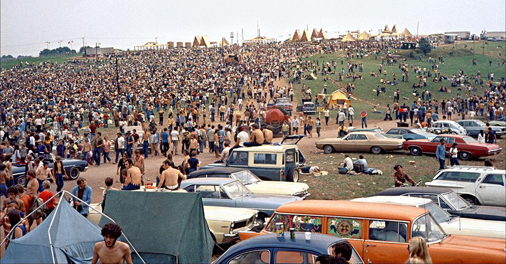 USA, Bethel, NY.1969, Woodstock Festival .