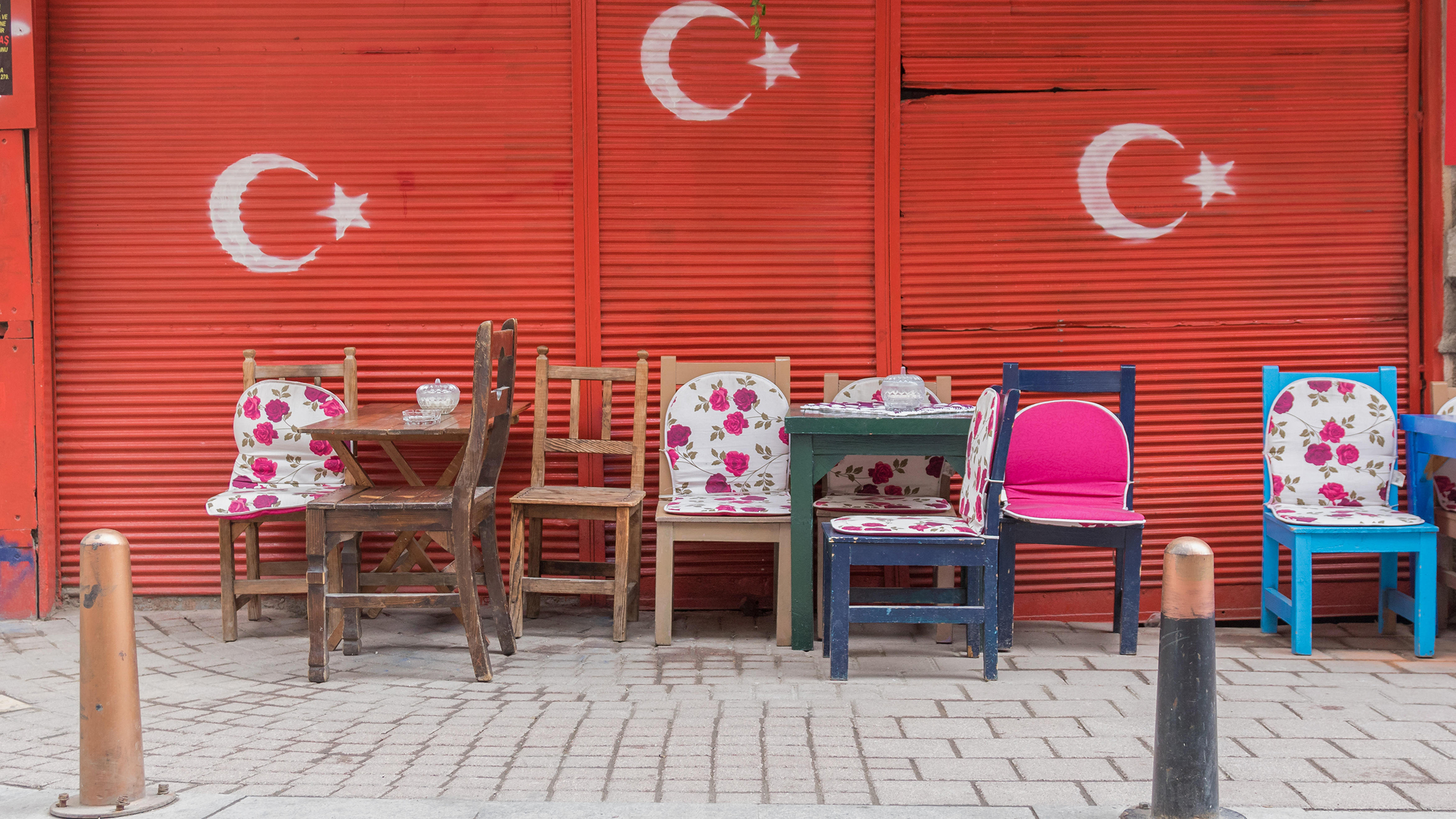 The districts of Fener and Balat are typical, colourful areas of Istanbul