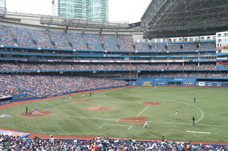 Toronto Blue Jays Major League Baseball stadium Rogers Centre