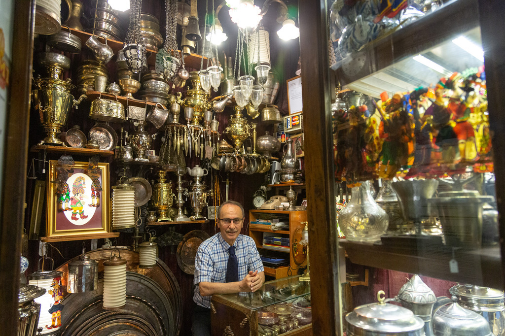 Shopkeepers Of Istanbul S Iconic Grand Bazaar