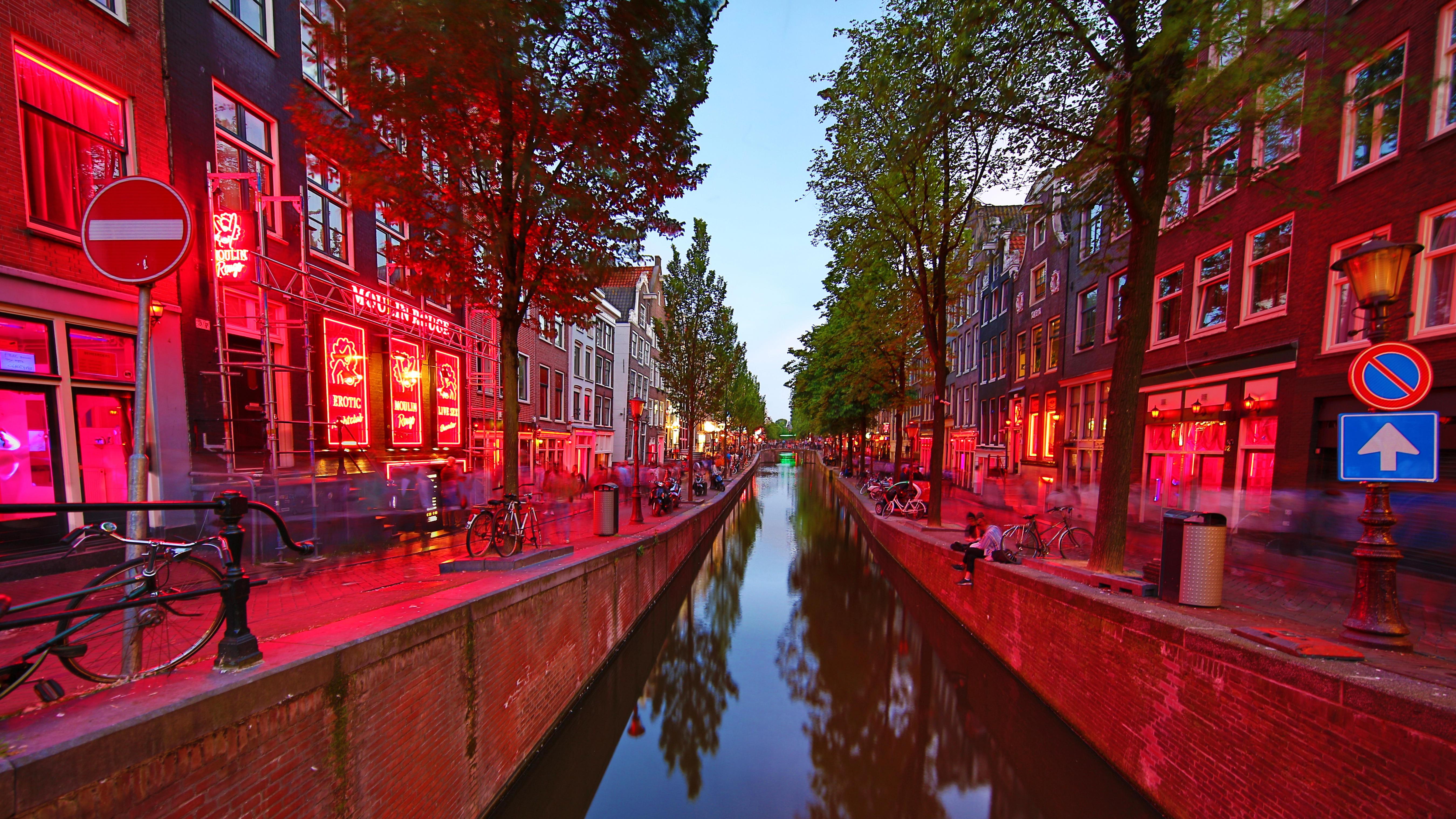 Red light quarter amsterdam