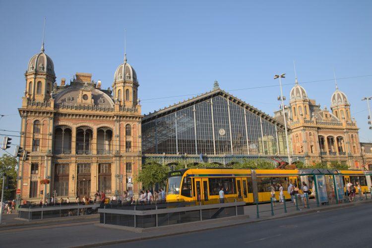 Nyugati Palyaudvar the Budapest Western railway station
