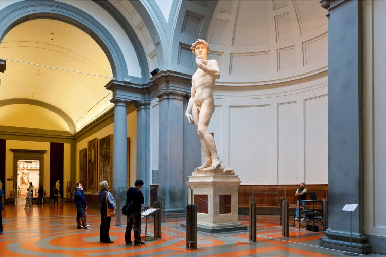 See Michelangelo's 'David' at the Galleria dell'Accademia