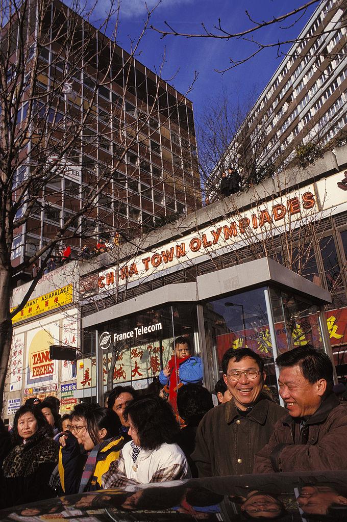 Paris Chinatown In Paris, France In 2002-