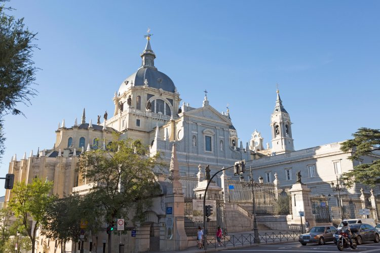 Catedral de Nuestra Senora de la Almudena, cathedral church, Madrid, Spain.