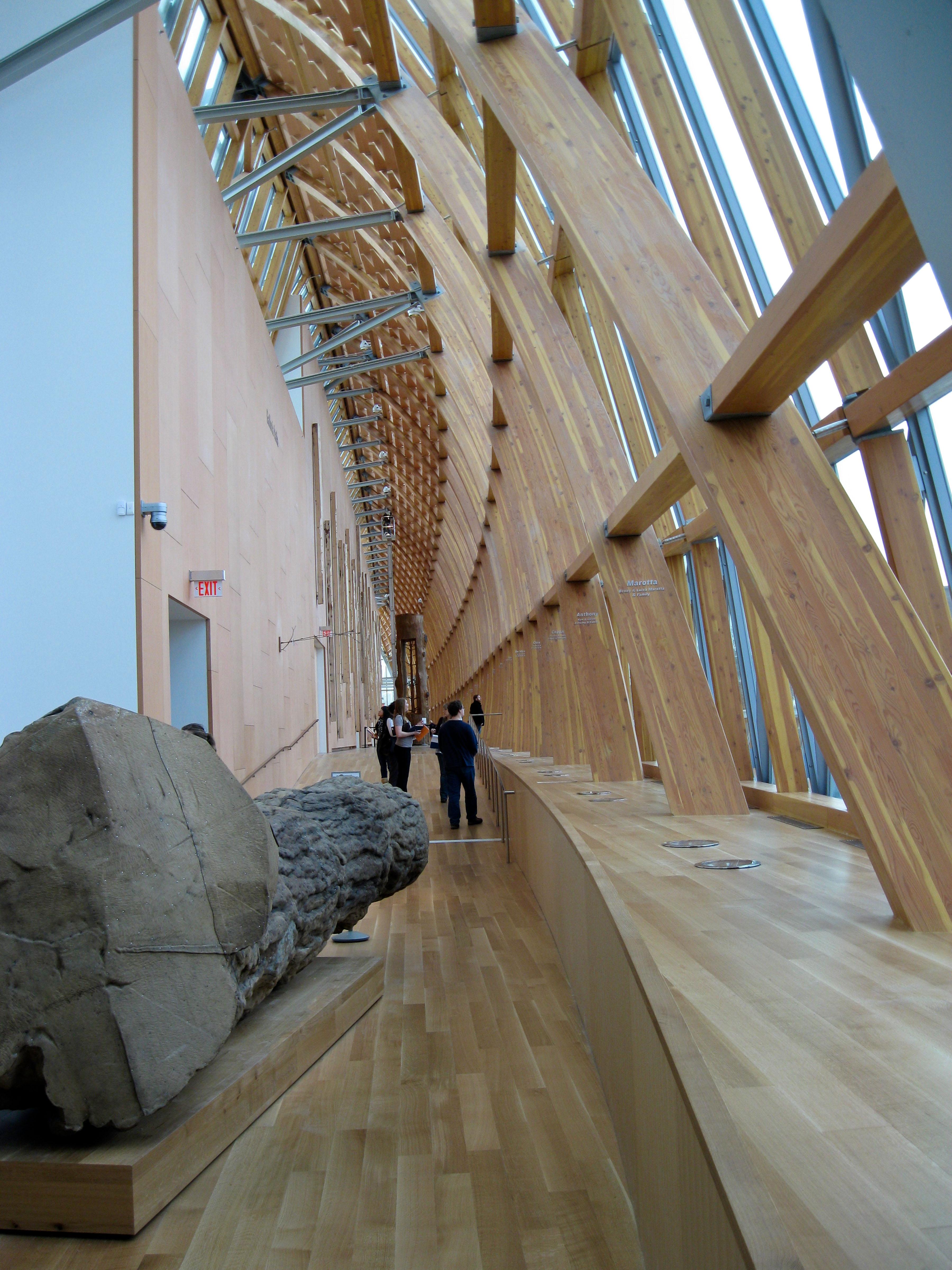 Newly renovated Art Gallery of Ontario (AGO) in Toronto, Ontario, Canada