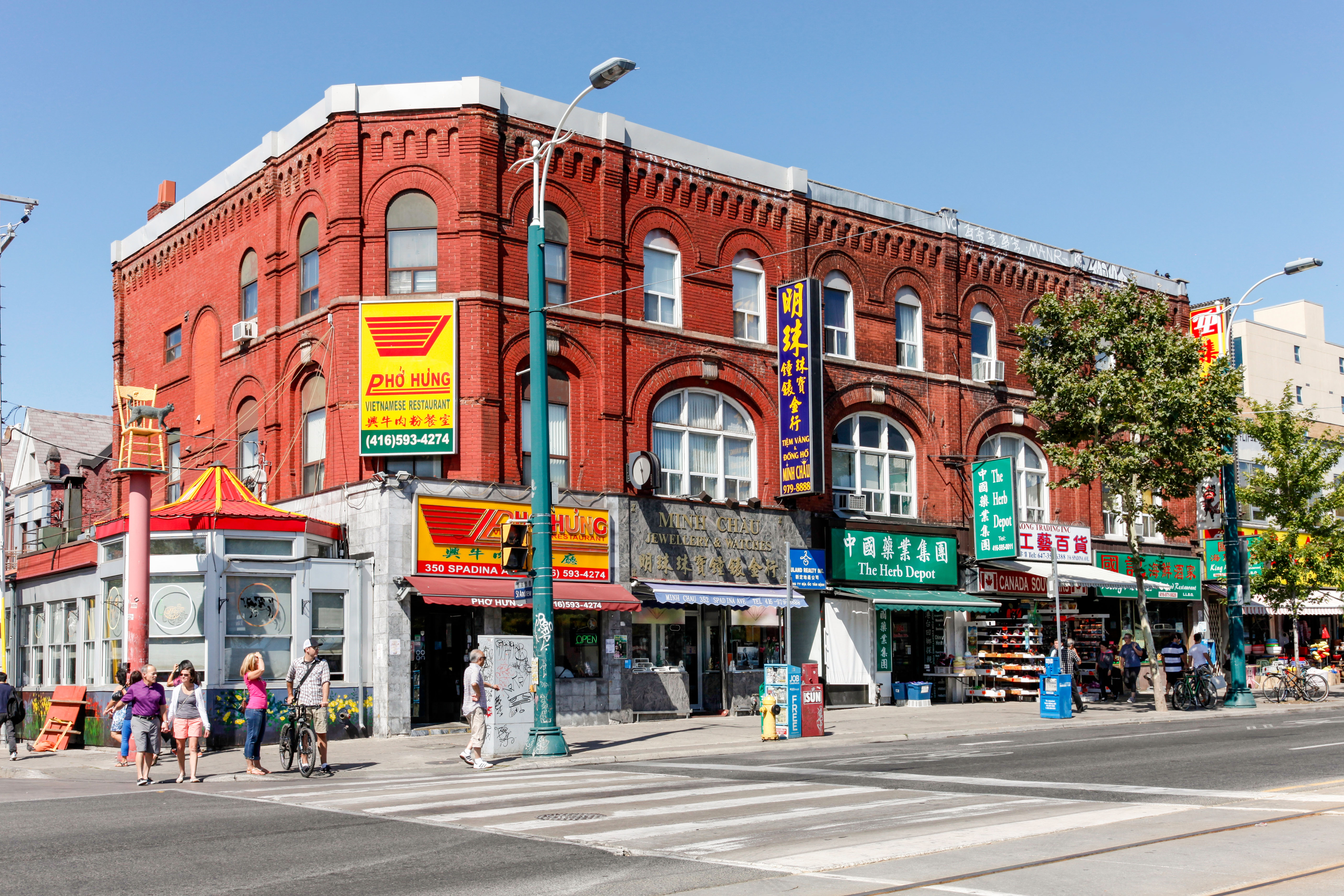 Chinatown and Kensington Market in Toronto;Ontario;Canada;North America. Image shot 08/2013. Exact date unknown.