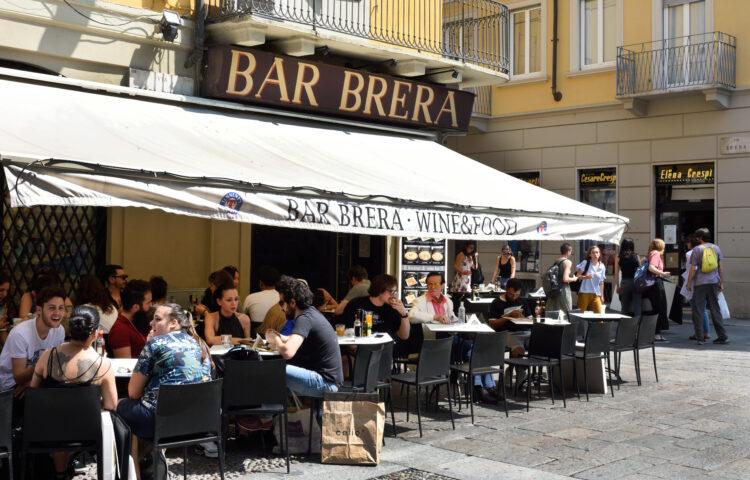 Bar Brera Wine and Food Milan, Italy, Italian