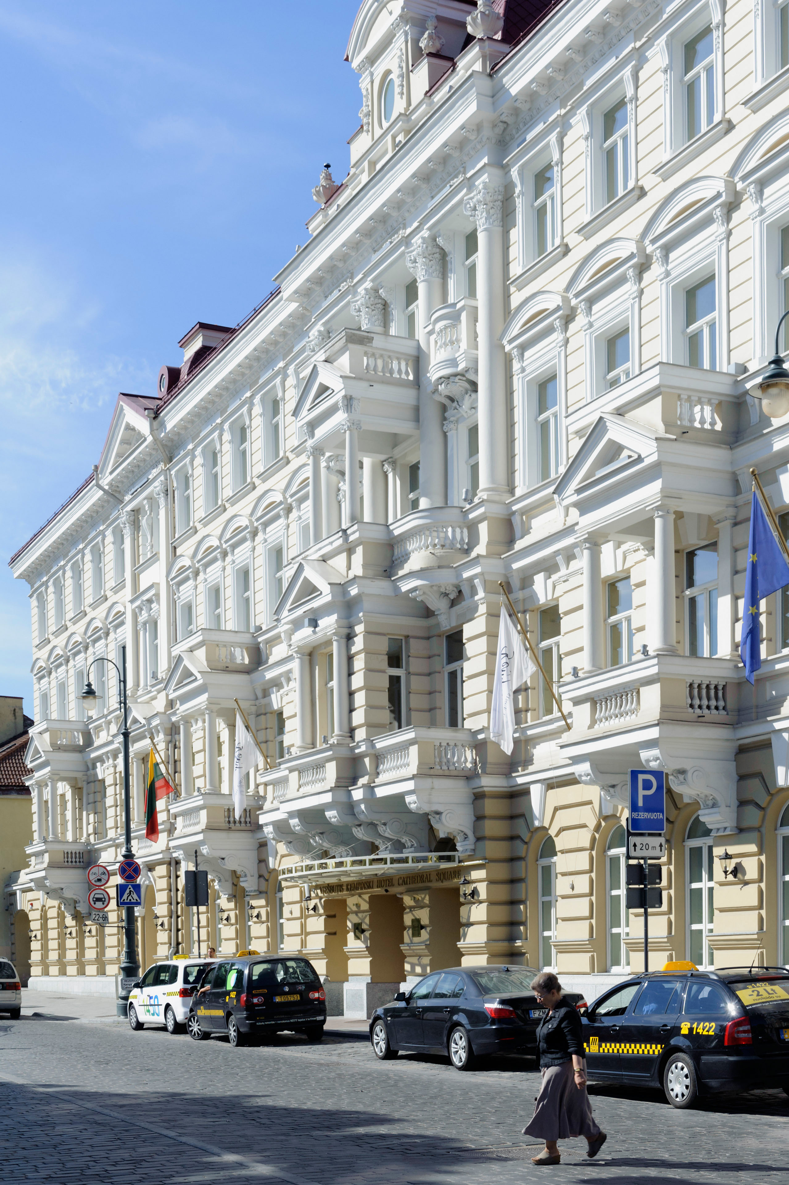 Kempinski-Hotel in Vilnius, Litauen, Europa, Unesco-Weltkulturerbe. Image shot 2013. Exact date unknown.