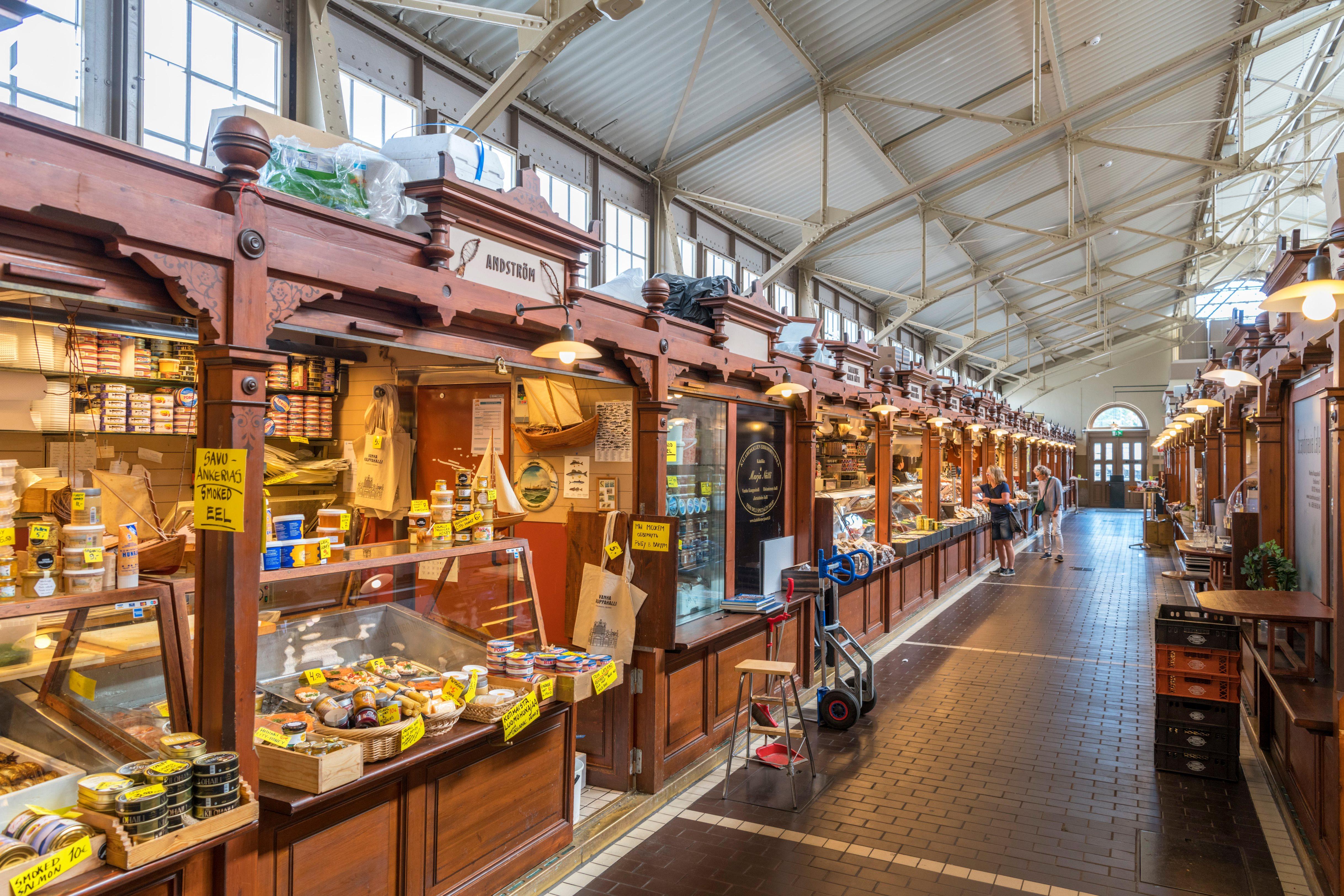 Helsinki Old Market Hall (Vanha Kauppahalli), Helsinki, Finland