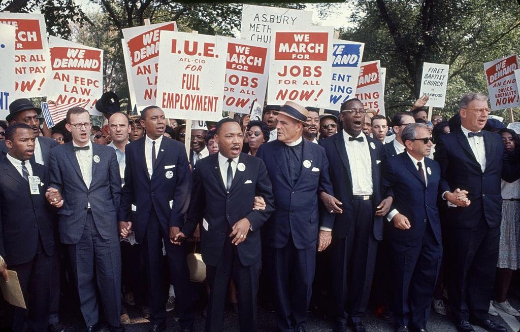Leaders At The March On Washington
