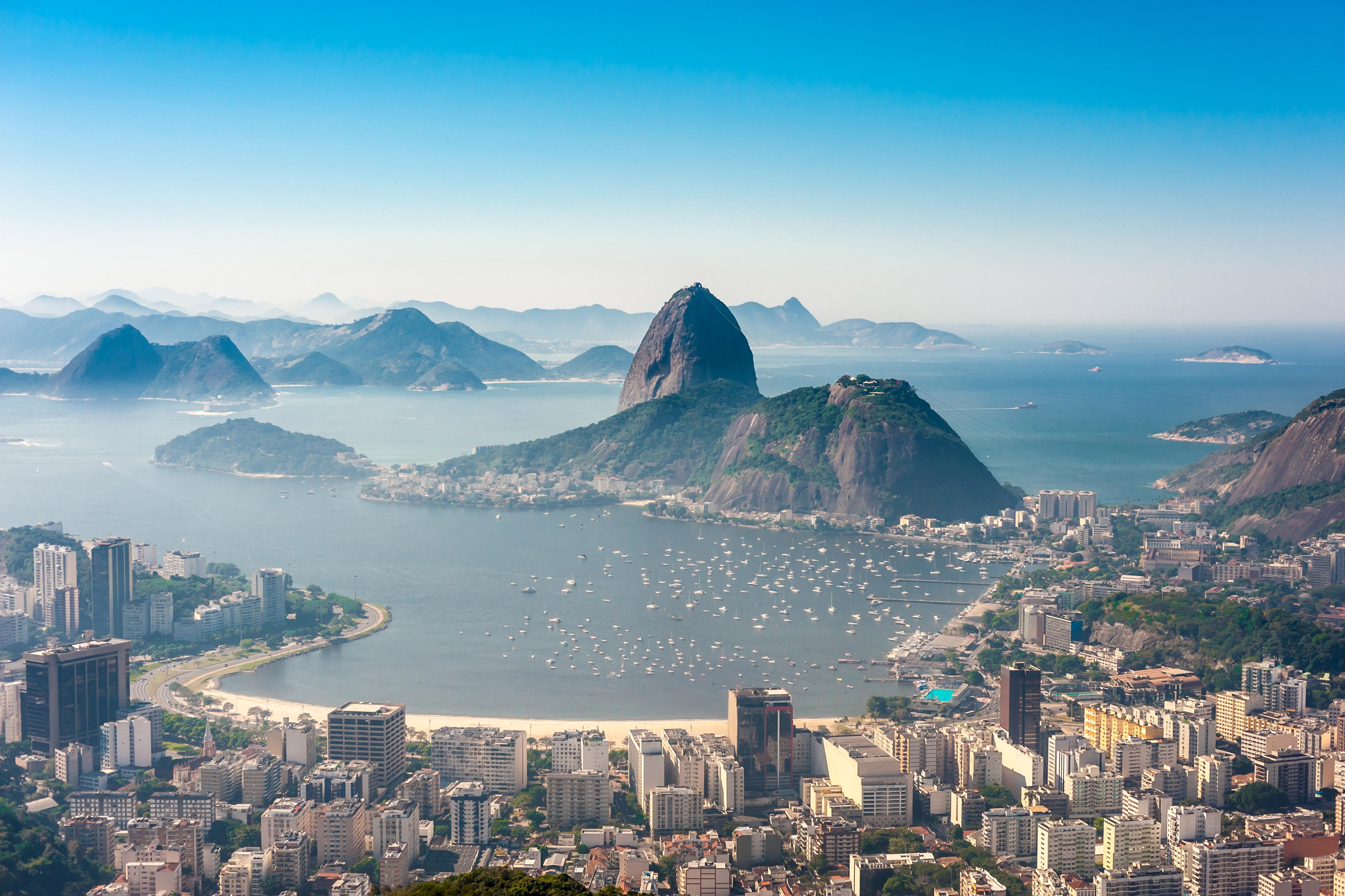 Botafogo bay, Rio de Janeiro